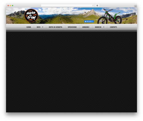 Radial Premium Theme best WordPress template - motodatrial.it