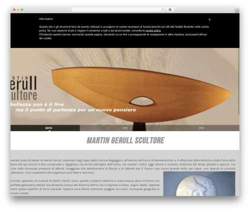 Senna WordPress page template - martingerull.com