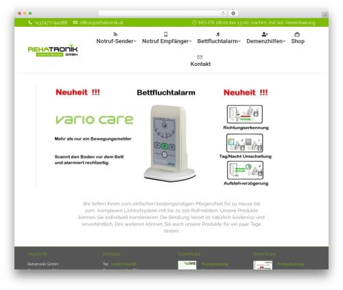 WordPress dt-the7-core plugin - pflegeruf.at