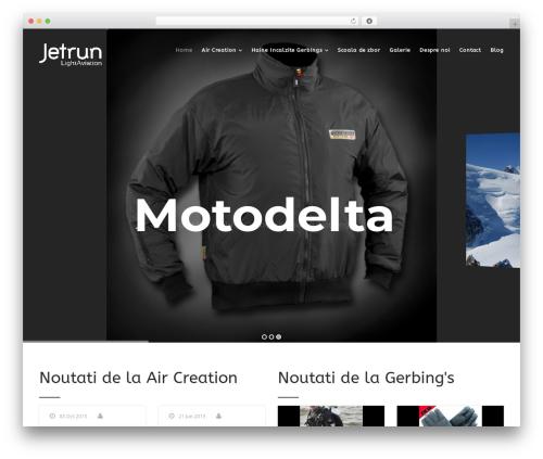 Theme WordPress Versatile - motodelta.ro