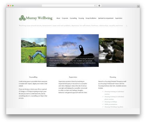 WordPress template Modest - murraywellbeing.co.uk/content