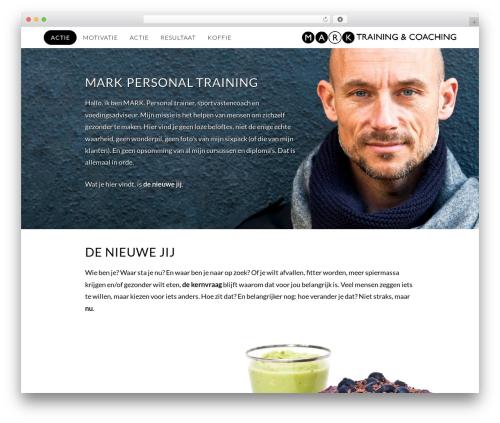 WordPress x-email-mailchimp plugin - markpersonaltraining.nl