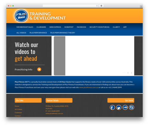 Free WordPress Plugin Name:       Responsive Video Shortcodes plugin - plusfitnesstraining.com.au
