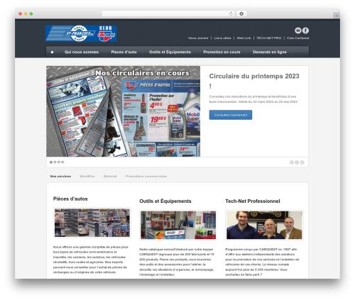 Breakout WordPress page template - piecesdautostfrancois.com
