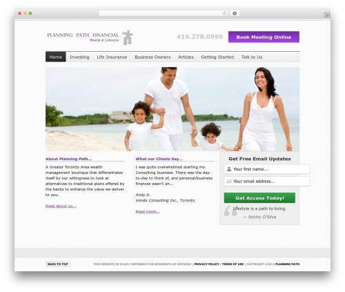 WordPress nivo-slider-for-wordpress plugin - planningpath.com