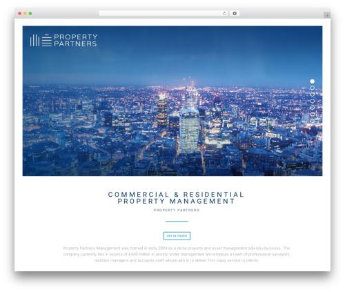 Narcos top WordPress theme - propertypartners.co.uk