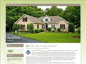 Our House Plans WordPress theme