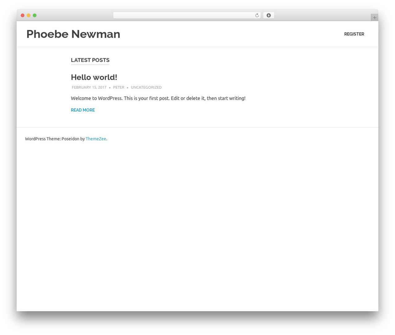 Poseidon WordPress theme download - phoebenewman.info
