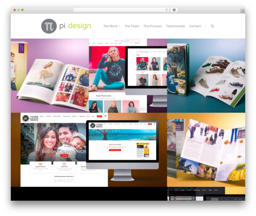 Theme WordPress Salient - pidesign.com