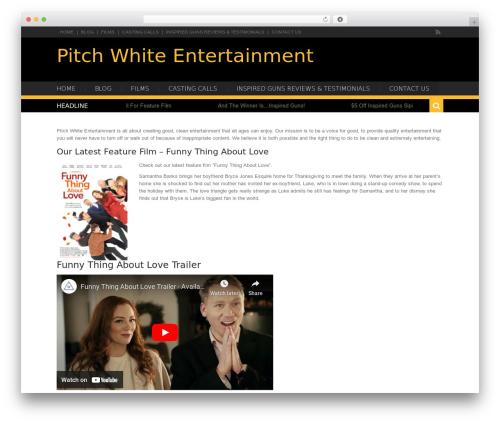 WP theme Karo Light - pitchwhiteent.com