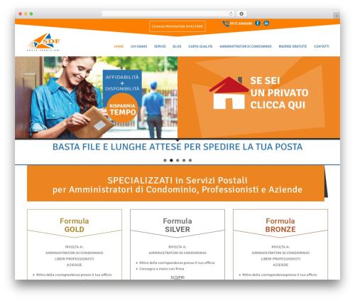 Best WordPress template ArkaHost - postespedizionisdf.com
