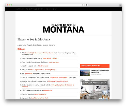 Hickory WP template - placestoseeinmontana.com