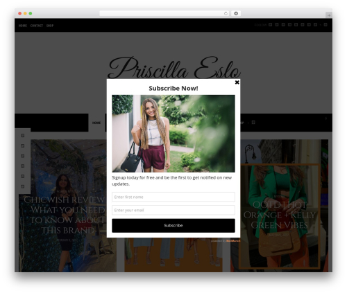 Free WordPress YouTube plugin - priscillaeslo.com