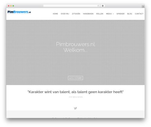 Tides WordPress theme - pimbrouwers.nl