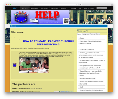 Xin Magazine WordPress magazine theme - peer-mentoring.eu