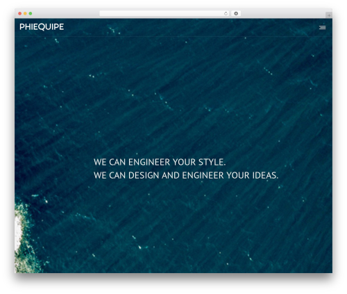 Best WordPress template DFD Native - phiequipe.it