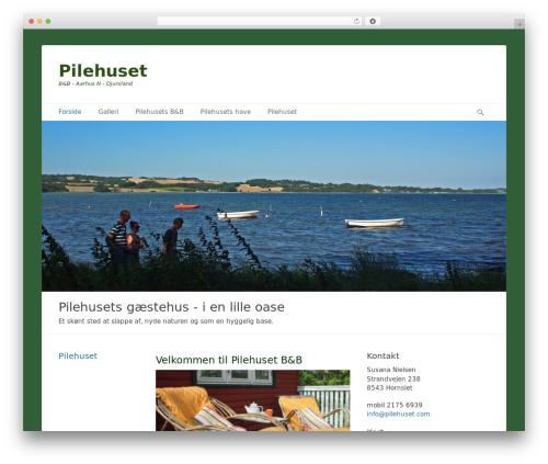 Catch Base template WordPress free - pilehuset.com