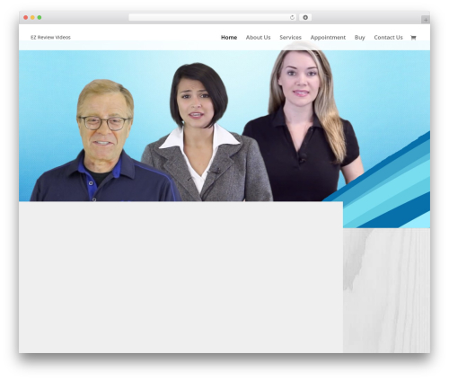 EZ Theme WordPress video template - tradeshowresults.com