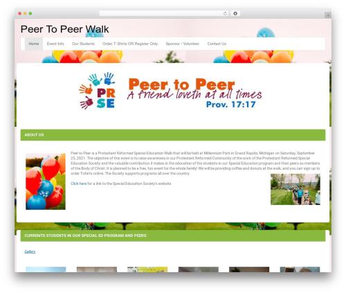 LineDay WordPress theme download - peertopeerwalk.com
