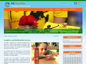 PM21 based D5 Socialia WordPress template