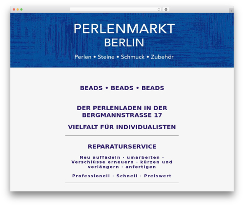 Free WordPress Reiki Companion plugin - perlenmarkt.berlin
