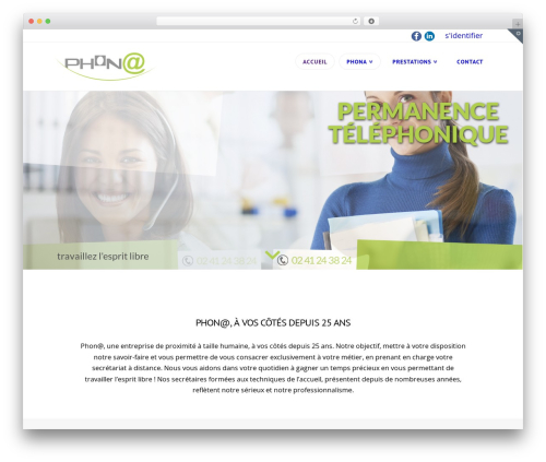 Template WordPress X - phona.fr