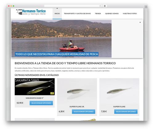 WordPress theme Delicate - pescatorrico.com