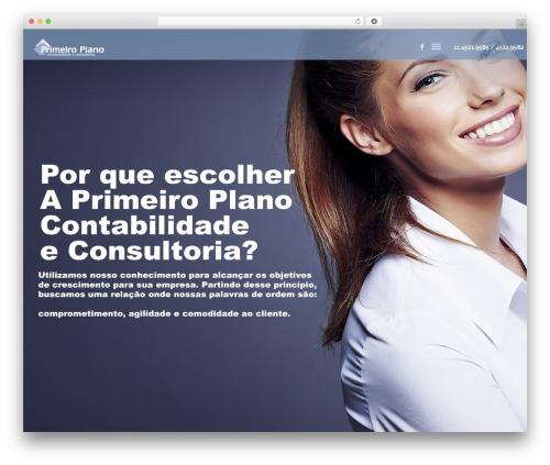 WordPress website template Nelva - ppcontabilidade.com.br