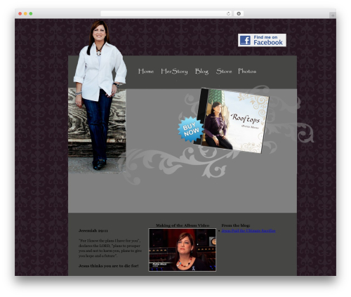 BLANK Theme theme WordPress - pattiemock.com