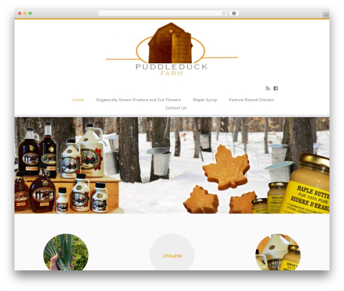 Customizr free WordPress theme - puddleduckfarm.ca
