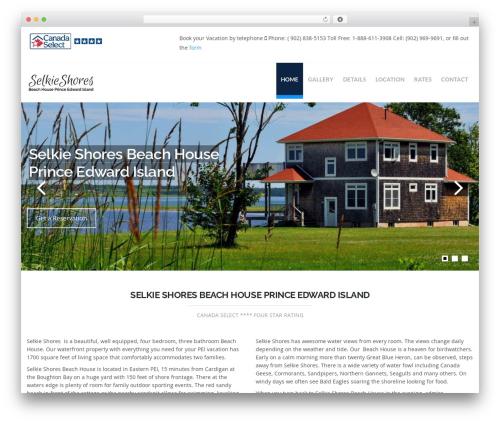 Hercules theme WordPress - pei-beachhouse.com
