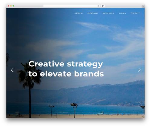 Nation premium WordPress theme - presskitchen.com