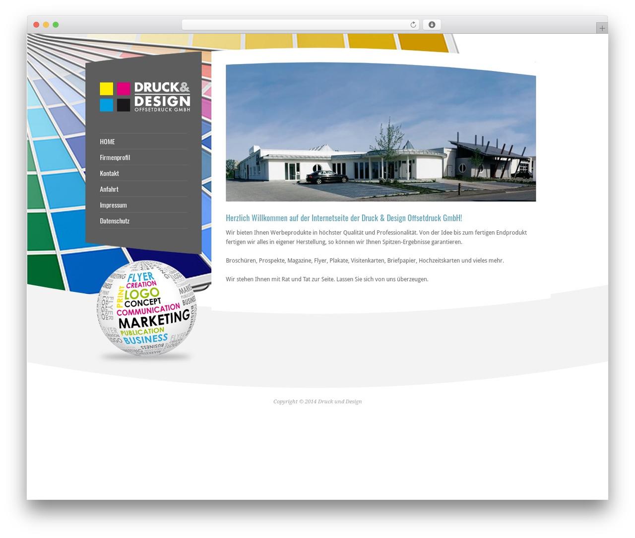 Template Wordpress Rt Theme 15 By Tolga Can Printhaus24 De
