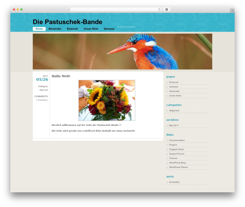 WordPress template FloatingLight - pastuschek.de