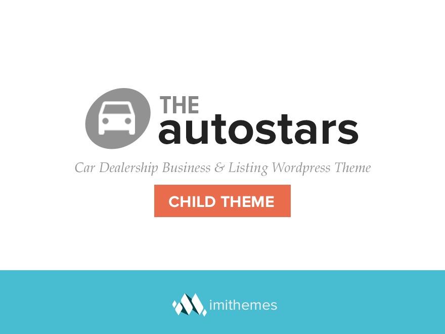 AutoStars Child Theme WordPress theme