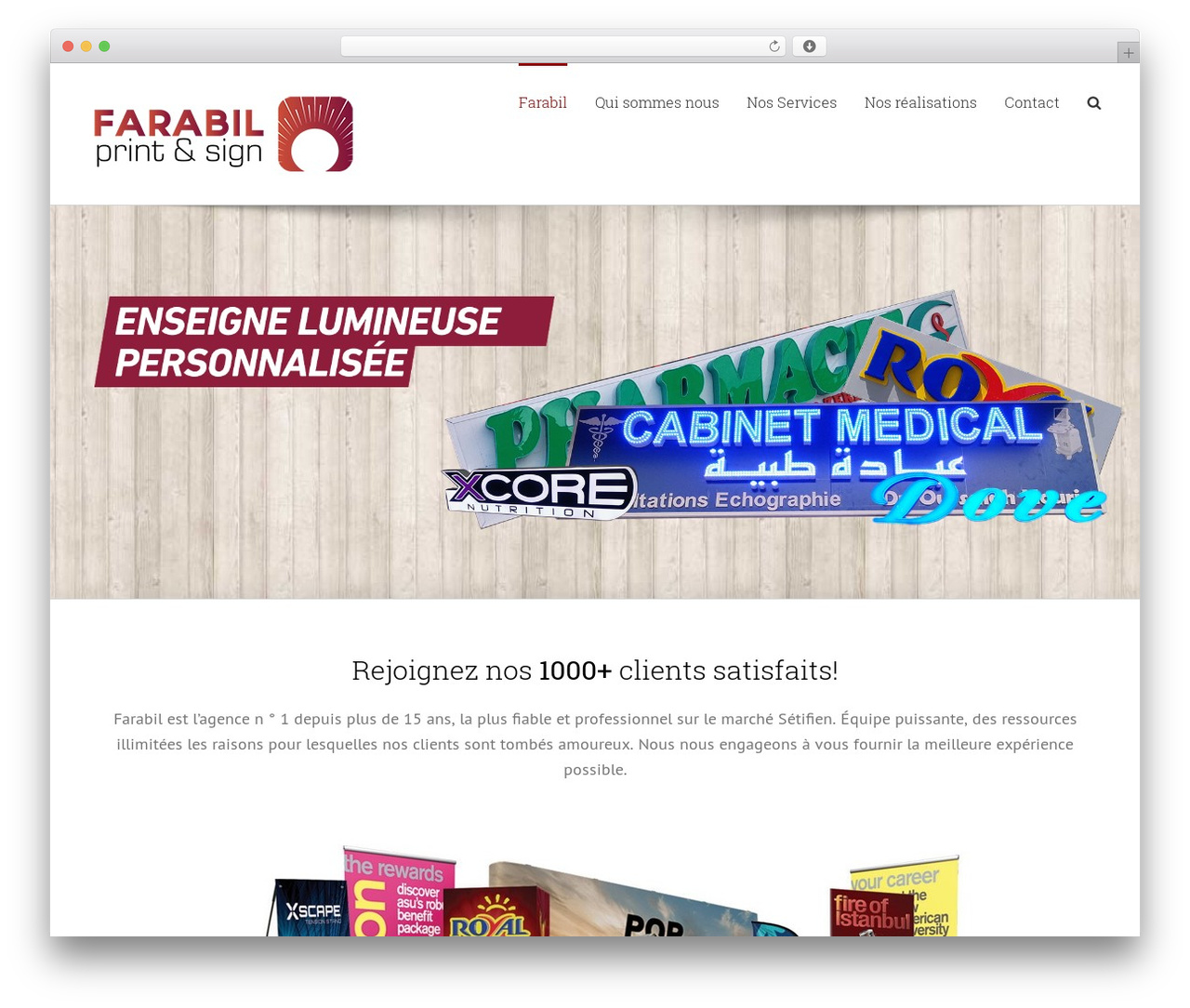 Avada WordPress template - farabil.com