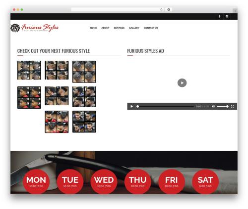Barber - Wordpress Theme WordPress shop theme - furiousstylesbarbershop.com
