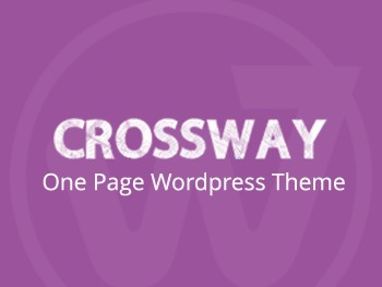 Best WordPress template Crossway Onepage Theme Child
