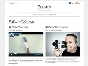 Best WordPress theme Elemin Child