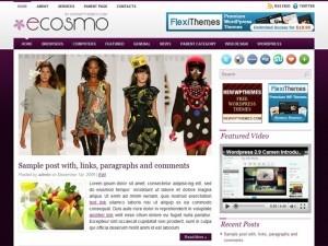 Ecosmo fashion WordPress theme