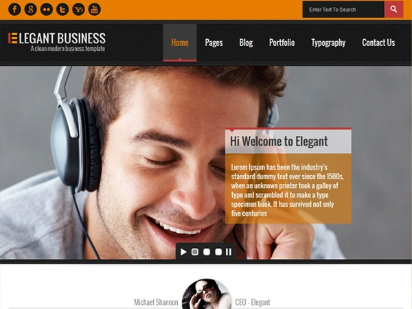 Elegant Business business WordPress theme