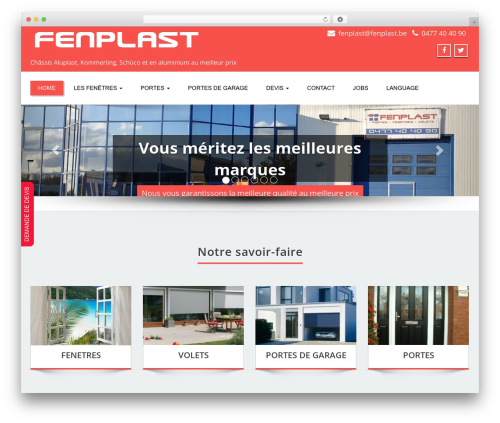 Free WordPress Simple Photo Gallery plugin - fenplast.be