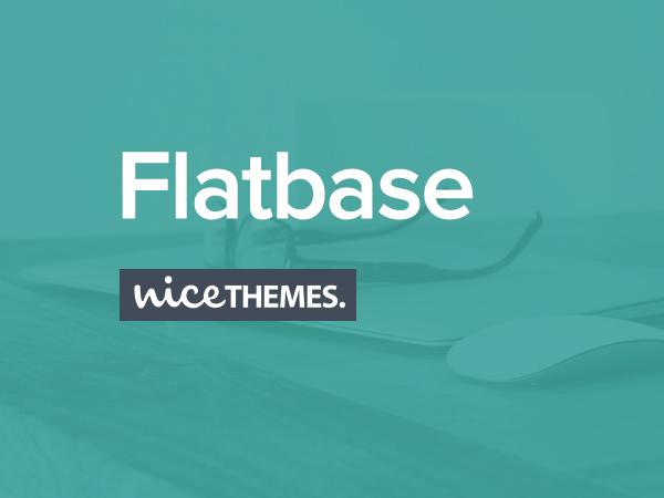 Flatbase top WordPress theme