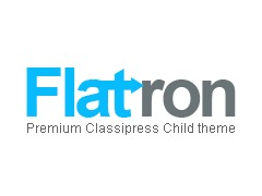 Flatron WordPress page template
