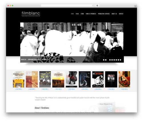 Goodways theme WordPress - filmblanc.com