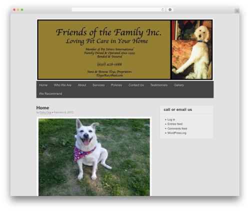 Gridiculous free WordPress theme - friendsofthefamilyinc.com