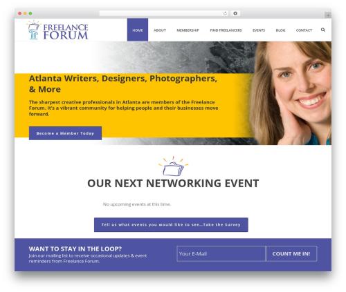 Jupiter top WordPress theme - freelanceforum.org