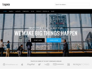 Legacy Theme premium WordPress theme