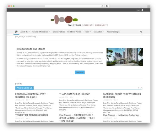 Newspaper newspaper WordPress theme - fivestonescondo.com