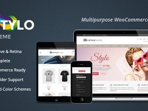 Stylo WordPress blog template